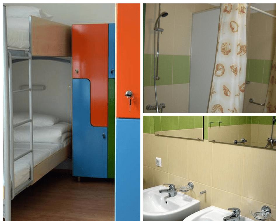 Ciszterci Ház - Baja, közösségi szálláshely közös fürdővel