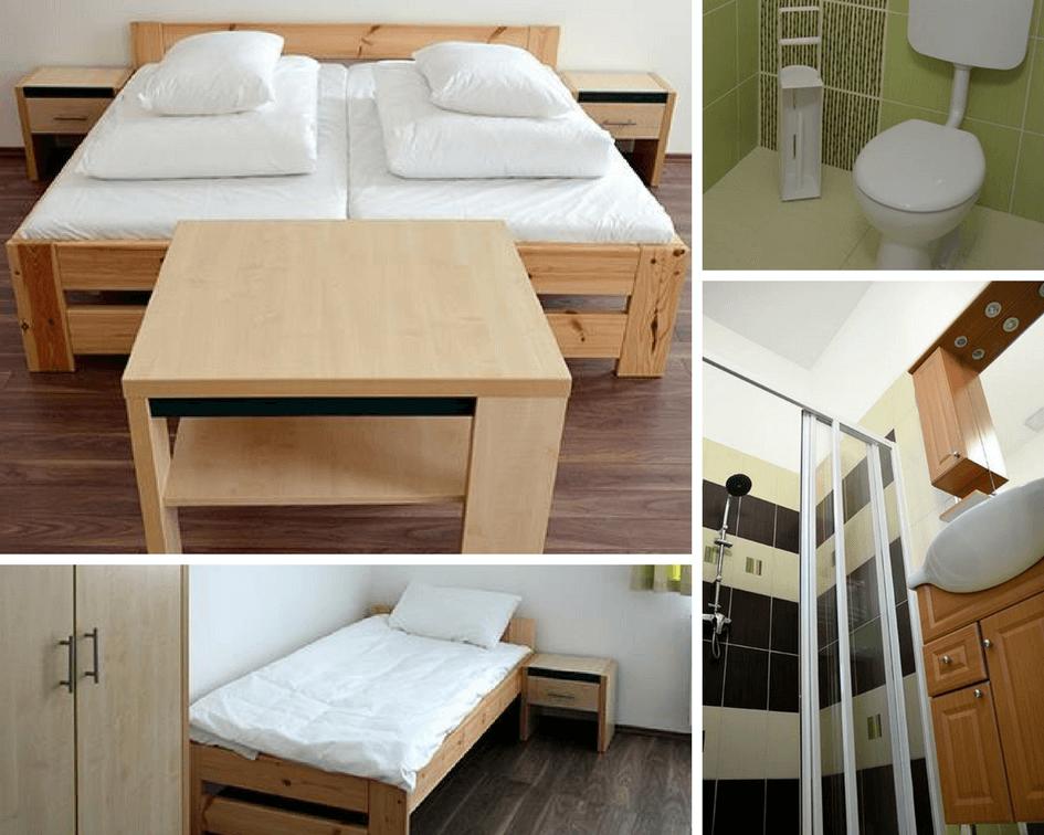 Ciszterci Ház - Baja, apartman szobák